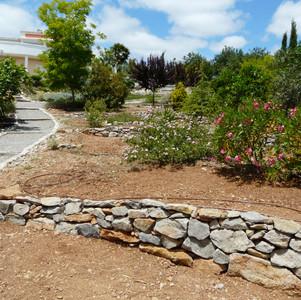 Stone terraces