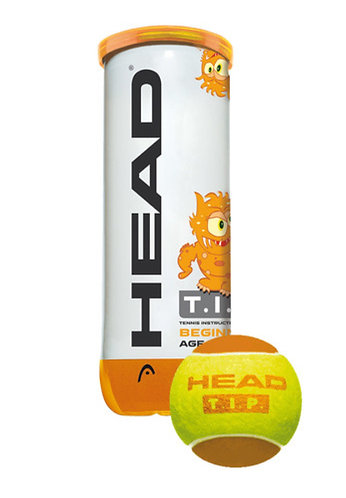 HEAD T.I.P. Orange 3 balls