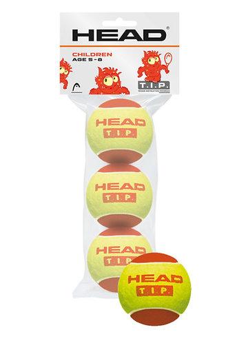 Head T.I.P. Red 3 balls
