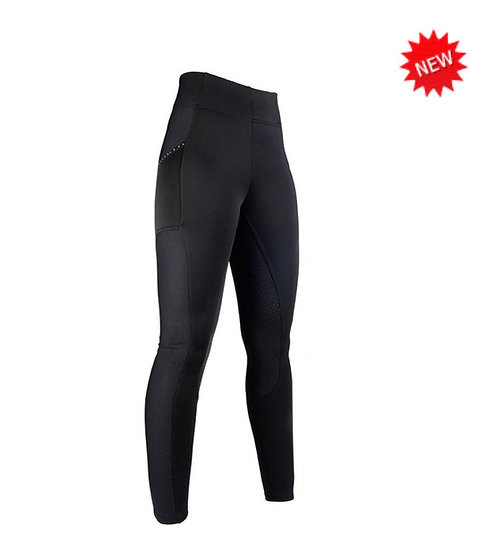 HKM Mesh Style Silicone Leggings