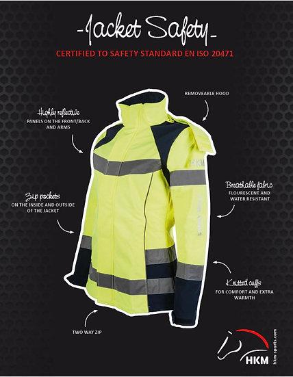 HKM Hiviz Safety Jacket