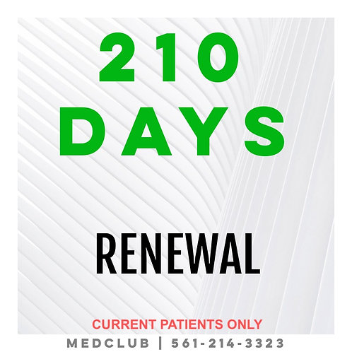 210 Day Certification Renewal
