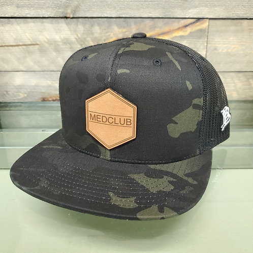 MedClub Hat with Leather Logo