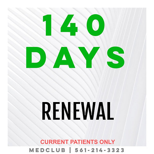 140 Day Certificate Renewal