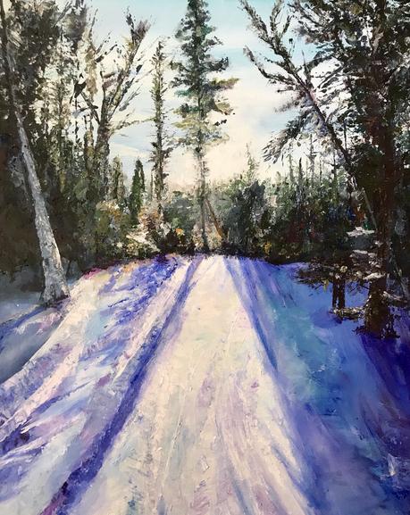 "18 x 24"" acryllic on canvas"