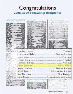 UCLA Graduate Opportunity Fellow