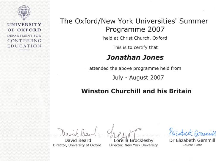 Oxford University Study Abroad