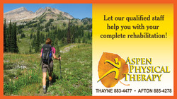 Aspen Physical Therapy Ad