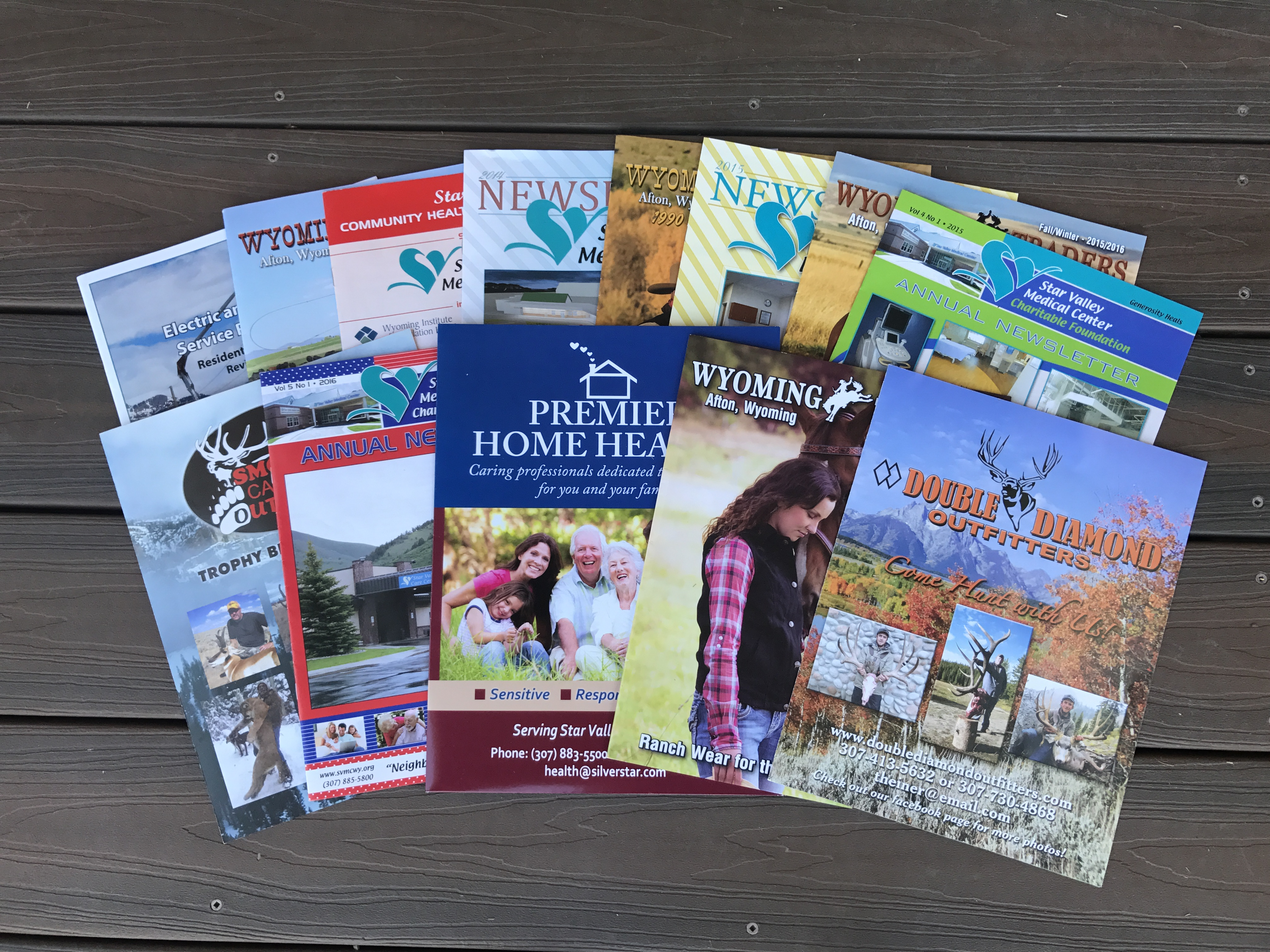 Newsletters & Catalogs