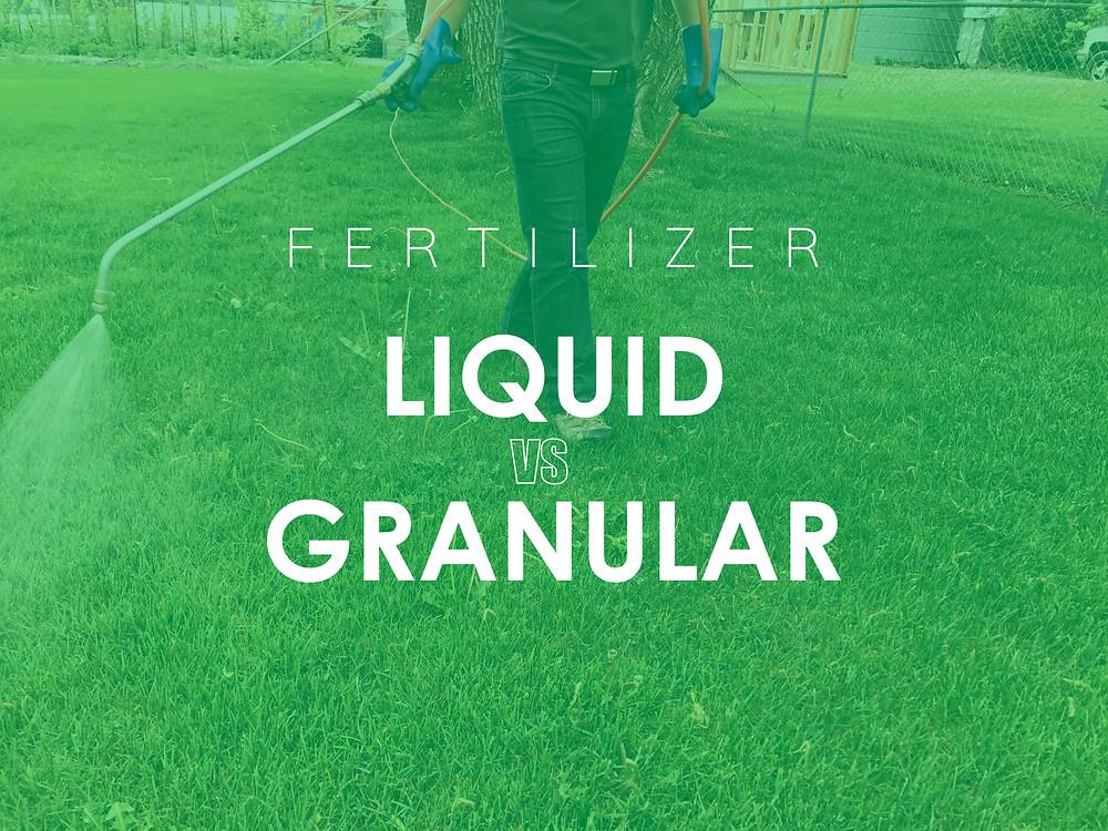 Star Valley Wyoming Liquid vs Granular Fertilizer