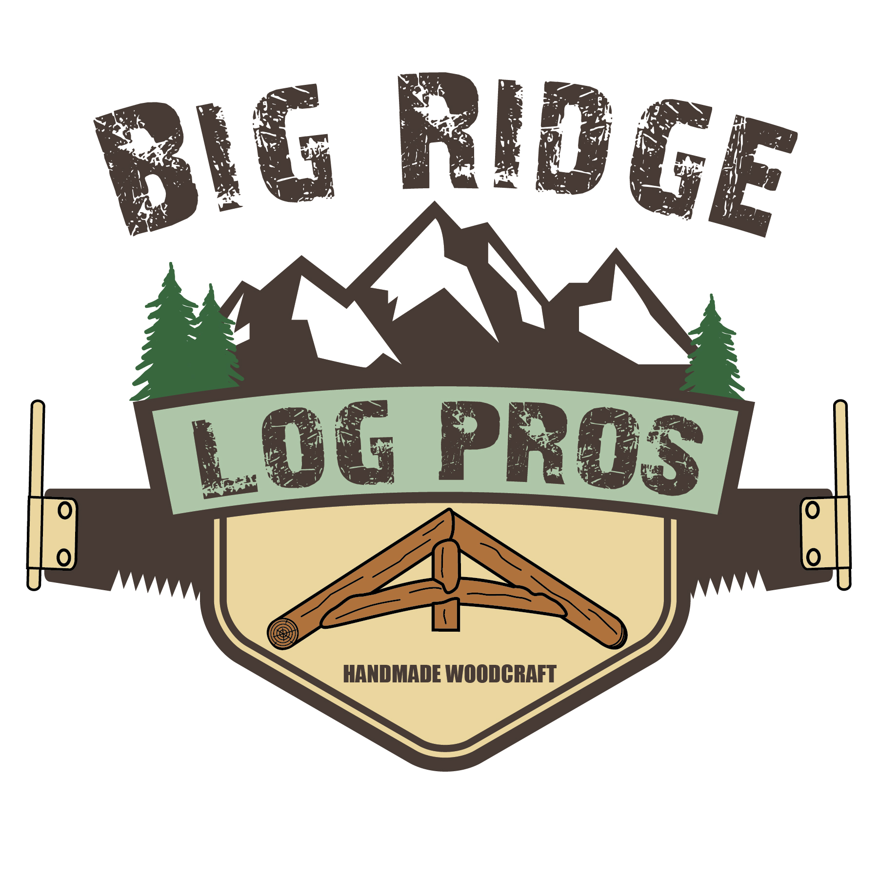 Big Ridge Log Pros Logo