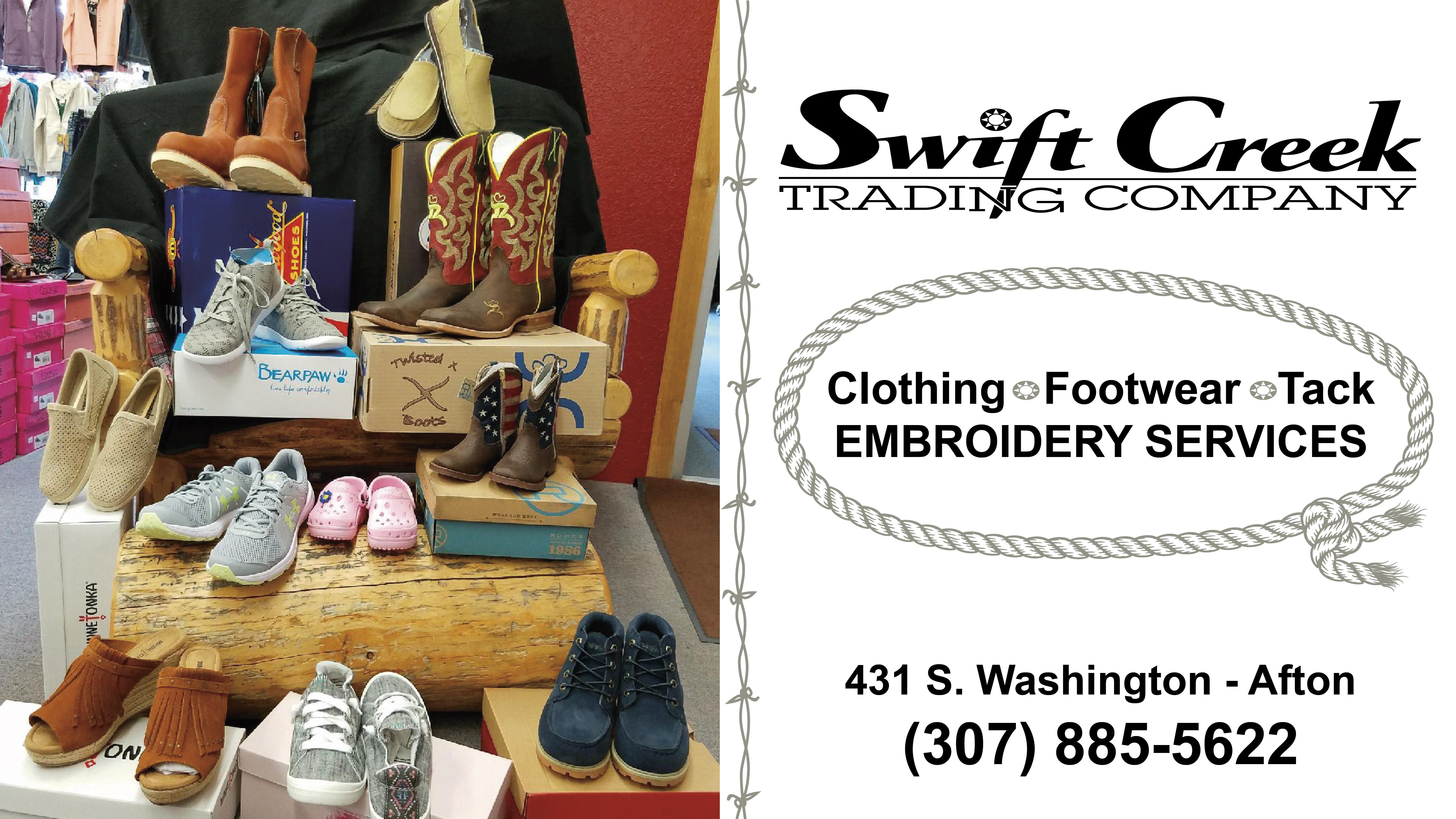 Swift Creek Trading Ad