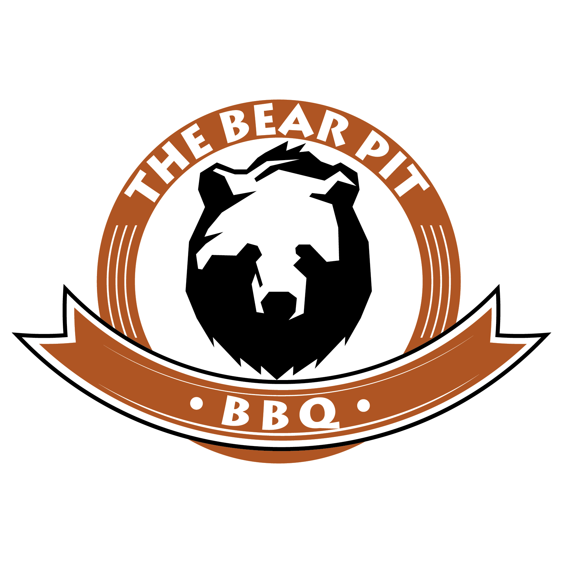 The Bear Pit BBQ Logo