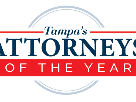 Tampa Style Magazine, Best Attorneys in Tampa, 2019