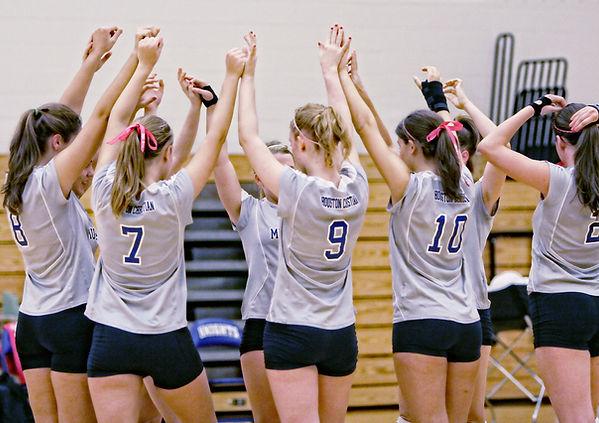 Voleibol equipo A-Huddle
