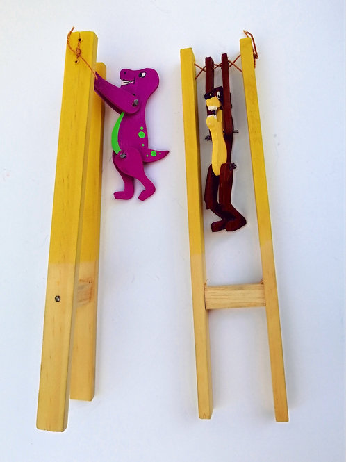 Retro Acrobat Flipping Toy