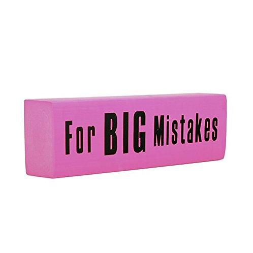 Jumbo Pink Eraser