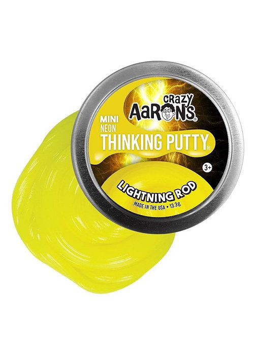 MINI LIGHTNING ROD - NEON THINKING PUTTY