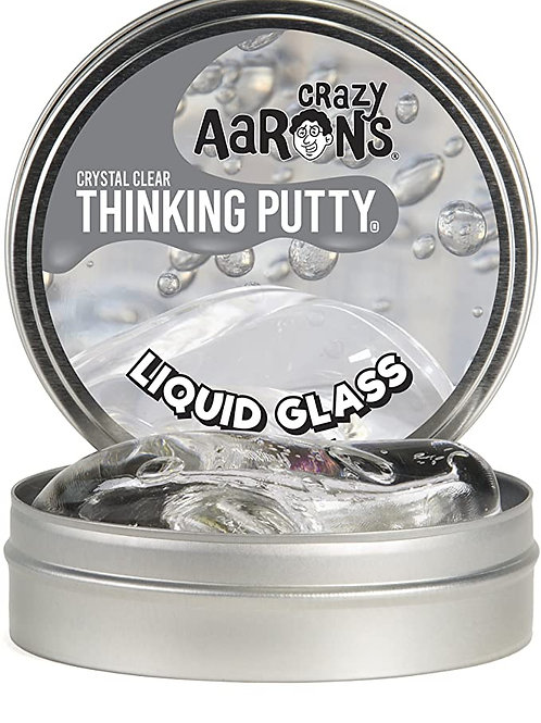 LIQUID GLASS - Transparent Crystal Clear Putty - Large Tin