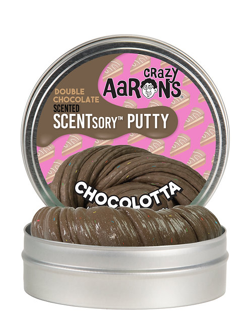 CHOCOLOTTA - Chocolate Milk Shake Scented Putty - Medium Small Tin