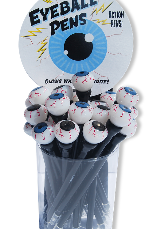 Light Up Eyeball Pen