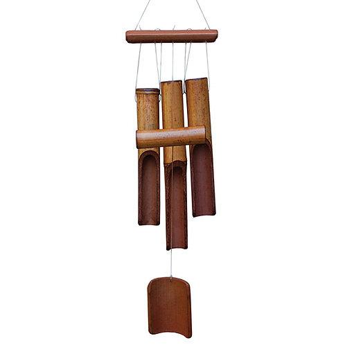 Bamboo Wind Chime Kit Natural Tone