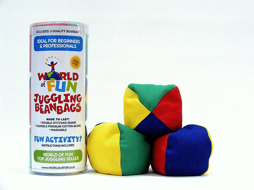 World of Fun Juggling Beanbag Gift Set