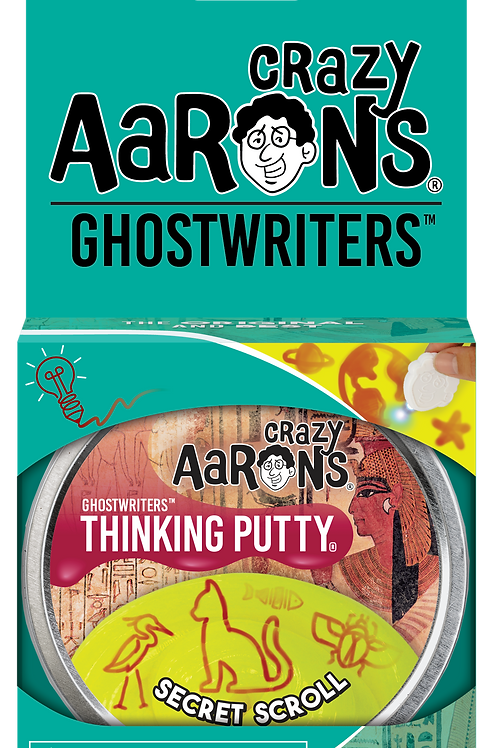 Secret Scroll - Ghostwriters Thinking Putty - Large Tin