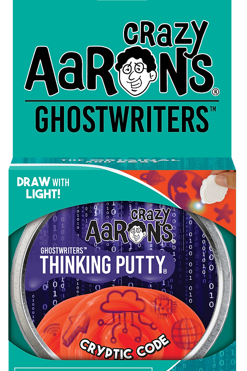 Cryptic Code - Ghostwriters Thinking Putty - Large Tin