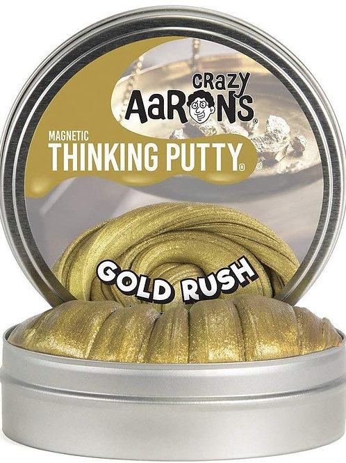 Gold Rush - Magnetic Thinking Putty - Large Tin
