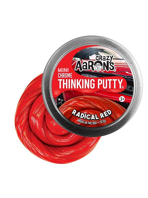 MINI RADICAL RED - CHROME THINKING PUTTY