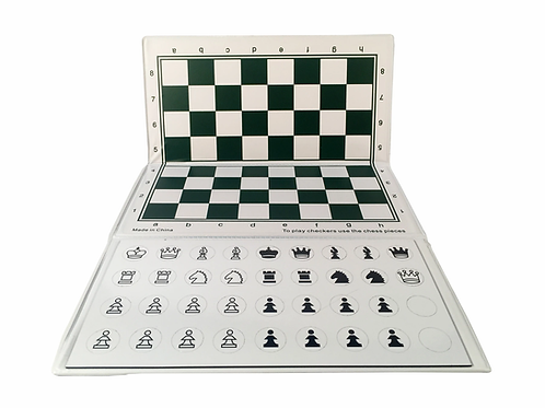 MAGNETIC CHESS SET - TRAVEL SIZE 10 INCHES