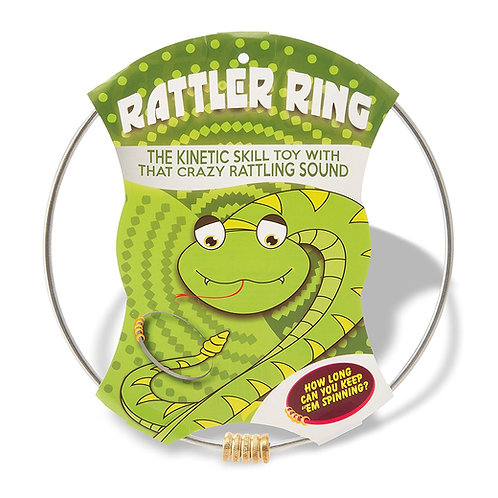 Rattler Ring - Kinetic Skill Toy