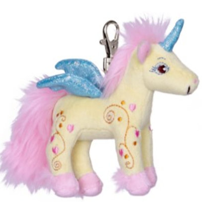 Plush Unicorn Key Chain by Spiegelburg Toys
