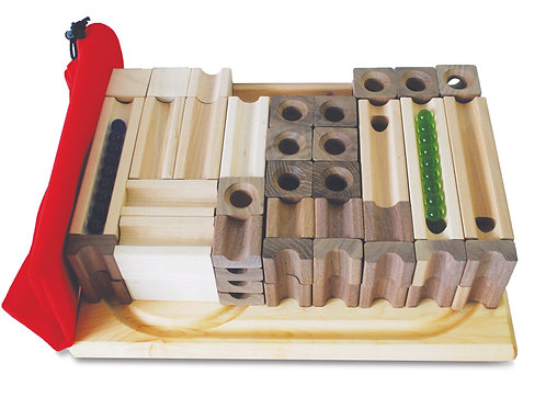 Blocks & Marbles Master Set - 80 Pieces