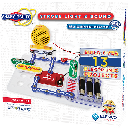 Snap Circuits - Strobe Light and Sound