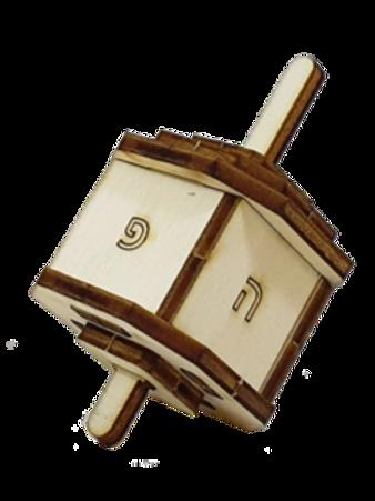 Do-It-Yourself Wooden Dreidel