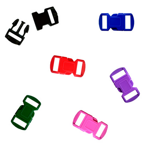 2 Colored 12 mm Buckles