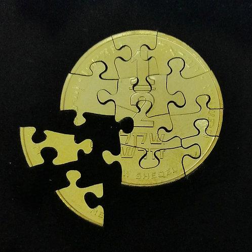 Half Shekel 12-Piece Puzzle