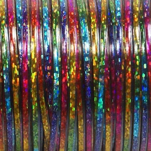 Rexlace Tie Dye 100 Foot Spool - Rainbow Tie Dye