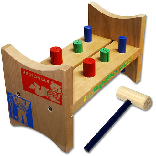 Wooden Classic Bingo Bed