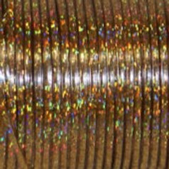 Rexlace Britelace 50 Yard Spool - Gold Holographic
