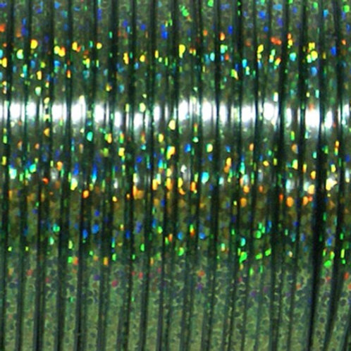 Rexlace Britelace 50 Yard Spool - Green Holographic