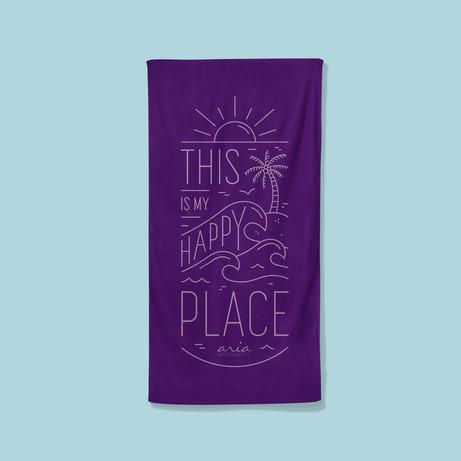 Aria Beach Towel