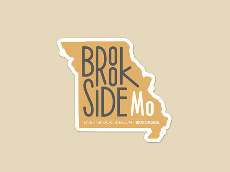 Brookside Sticker