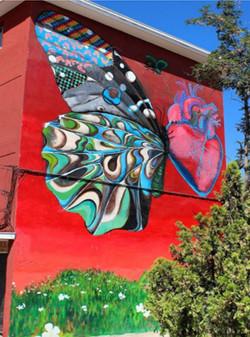 Mural Homenaje a Lemebel