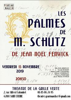 Affiche Les Palmes Saint Etienne la bonn
