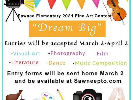 Sawnee Elementary Impressions Fine Art Contest: Dream Big