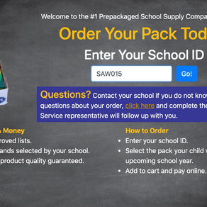 2021-22 School Supplies On Sale Now to Benefit our School!