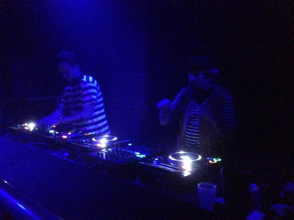 Sean Johnston/Andrew Weatherall B2B sur 2 régies SG Audio